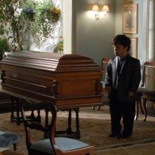 Un'immagine del film Funeral Party