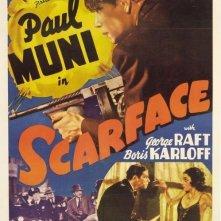 La locandina di Scarface - Lo sfregiato