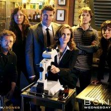 Wallpaper con il cast della serie Bones