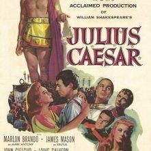 La locandina di Giulio Cesare