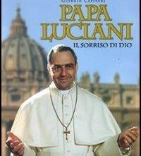 La locandina di Papa Luciani, il sorriso di Dio