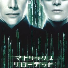 La locandina giapponese di MATRIX RELOADED