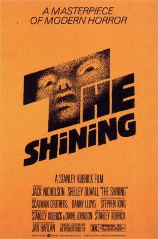 La locandina originale di SHINING