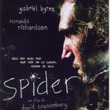 La locandina spagnola di SPIDER