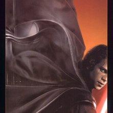 Un manifesto promozionale giapponese di Star Wars ep. III - La vendetta dei Sith
