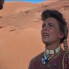 Natalie Wood in una scena di SENTIERI SELVAGGI