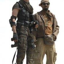 Oded Fehr e Mike Epps in una scena di RESIDENT EVIL: EXTINCTION