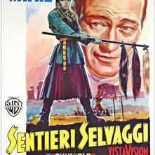 Una locandina italiana di SENTIERI SELVAGGI