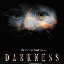 La locandina tedesca di DARKNESS