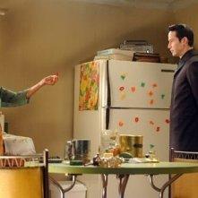 Mary Alice e Keanu Reeves in una scena di MATRIX REVOLUTIONS