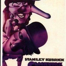 Uno dei poster originali di ARANCIA MECCANICA