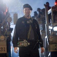 Bruce Willis in una sequenza del film Planet Terror, episodio del double feature  Grind House