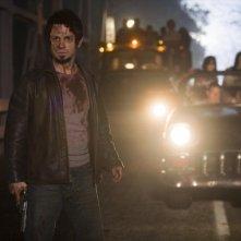 Freddy Rodriguez  in una scena del film Planet Terror, episodio del double feature  Grind House
