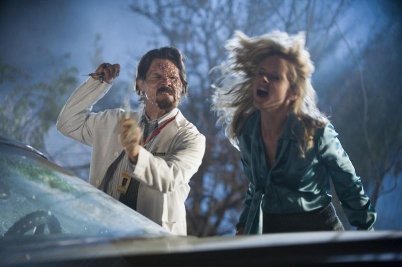 Marley Shelton E Josh Brolin In Una Scena Del Film Planet Terror Episodio Del Double Feature Grind House 46522