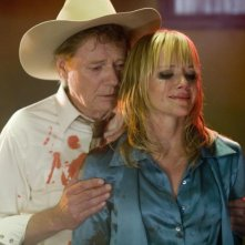 Marley Shelton in una scena di Planet Terror, episodio del double feature  Grind House