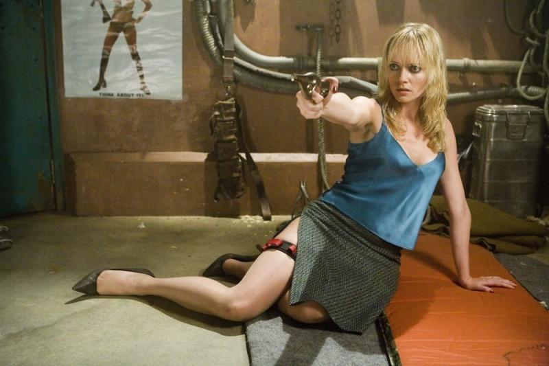 Marley Shelton In Una Scena Del Film Planet Terror Episodio Del Double Feature Grind House 46481