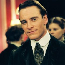 Michael Fassbender in una scena del film Angel