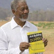 Morgan Freeman in una scena di Un'impresa da Dio