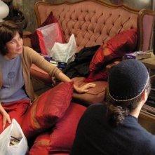 Sabina Guzzanti in una scena del film Le ragioni dell'aragosta