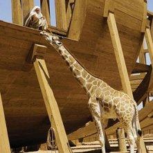 Steve Carell costruisce l'Arca in una scena di Un'impresa da Dio