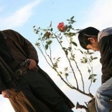 Hideaki Ito in una scena del film Sukiyaki Western Django