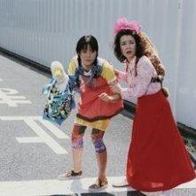 Kayoko Kishimoto e Anne Suzuki in una scena di Glory to the Filmaker!