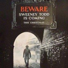 La locandina di Sweeney Todd