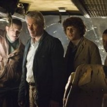 Richard Gere, Terrence Howard e Jesse Eisenberg in The Hunting Party