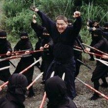 Takeshi Kitano in una scena di Glory to the Filmaker!