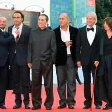 I giurati Emanuele Crialese, Alejandro González Iñárritu, Zhang Yimou, Ferzan Ozpetek, Paul Verhoeven e Catherine Breillat