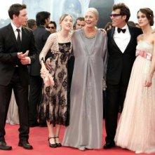 James McAvoy, Vanessa Redgrave, Saoirse Ronan, Joe Wright e Keira Knightley elegantissimi per la premère veneziana di Espiazione