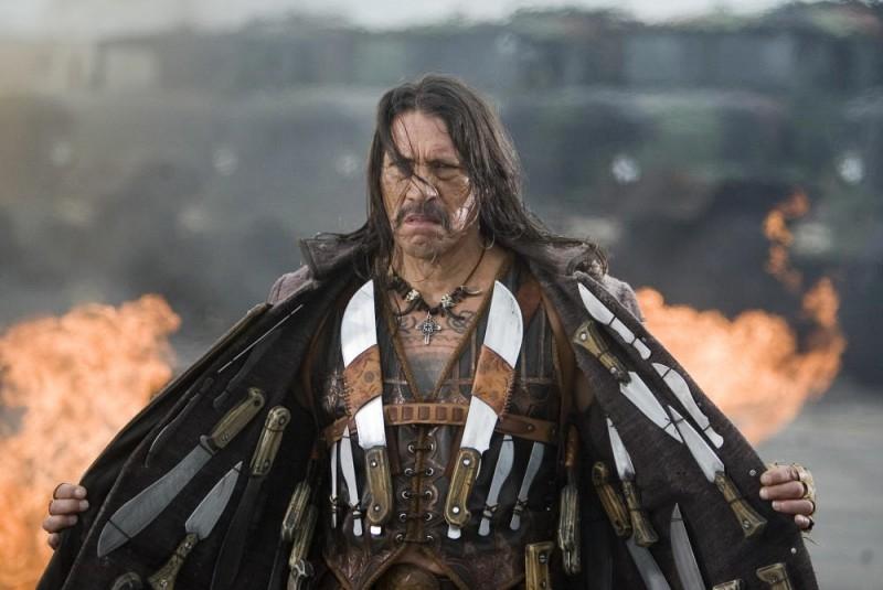 Danny Trejo In Una Scena Del Film Planet Terror Episodio Del Double Feature Grind House 46909