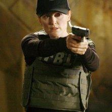 Julianne Moore in una scena del thriller sci-fi Next (2007)