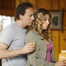 Nicolas Cage e Jessica Biel in una scena tratta dal film Next