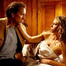 Cage e la Biel in una scena del film Next