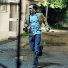 Nicolas Cage in una scena del thriller sci-fi Next