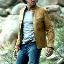 Nicolas Cage in una scena drammatica del thriller sci-fi Next