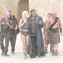 Diego Abatantuono in una scena del film 2061