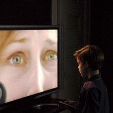 Jacob Kogan e Vera Farmiga in una scena di Joshua