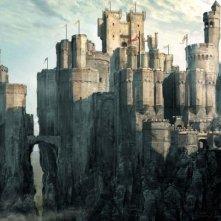 Un bozzetto preparatorio per una scena di Le cronache di Narnia: il principe Caspian