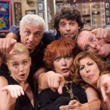 Una foto promozionale per il cast di '7 Vite'