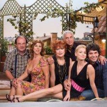 Una foto promozionale del cast di '7 Vite'