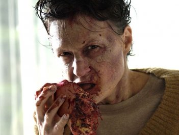 Una scena gore di Diary of the Dead