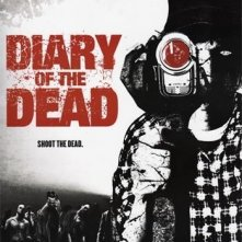 La locandina USA di Diary of the Dead