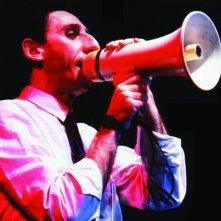 Franco Battiato al megafono