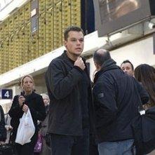 Matt Damon in una scena del thriller The Bourne Ultimatum
