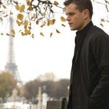 M. Damon in una scena del film The Bourne Ultimatum