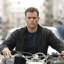 Matt Damon in una scena diThe Bourne Ultimatum
