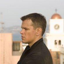 Matt Damon è il protagonista del film The Bourne Ultimatum