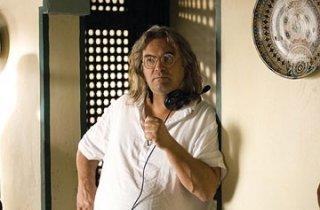 Il regista Paul Greengrass sul set del film The Bourne Ultimatum